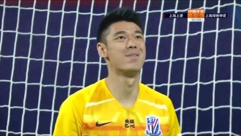 上海上港vs上海申花,2020中超最好看的一场比赛,精彩镜头值得收藏