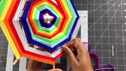 视频教程 把彩虹的颜色融入曼达拉,祝福你的生活多姿多彩