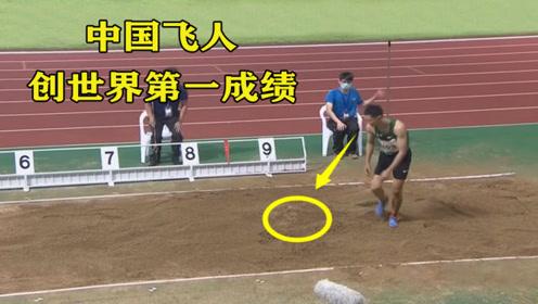 仅差0.03米!中国飞人这一跳爆发超日本名将,结果日本网友不服了