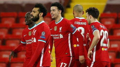 欧冠 利物浦1-0阿贾克斯 豪取小组赛5连胜!