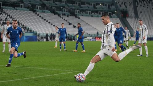欧冠C罗进球创造历史,尤文3-0大胜基辅迪那摩!