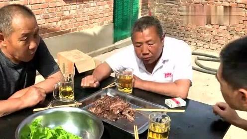 80多买了3斤驴排骨,老汤卤了2小时,这驴肉味得劲儿