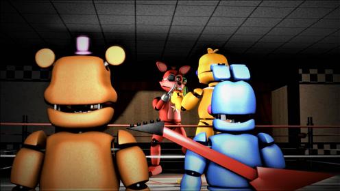 """【搞笑动画】一年一度的""""玩具王""""格斗杯 开始"""