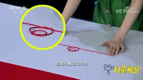 一根绳上的大小绳圈能同时打结?实验结果让人匪夷所思
