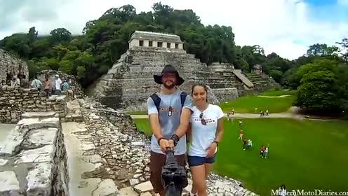 Chacon的跨国游记:3年自拍 行程12000英里