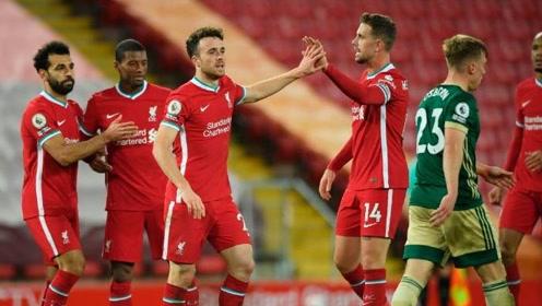 【集锦】利物浦2-1逆转谢菲尔德联 菲尔米诺若塔各自建功