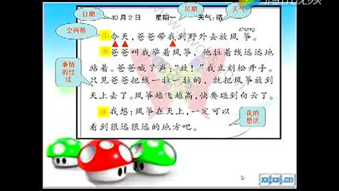 The third grade Chinese Vol.1 Assignment: Write a diary