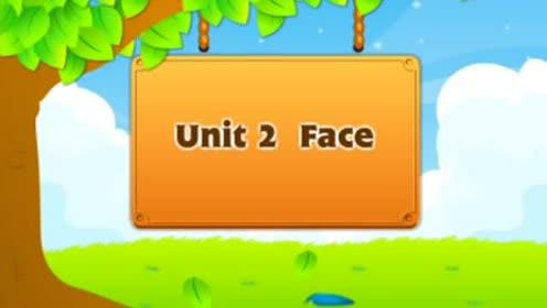 新起點一年級英語上冊Unit 2 face