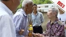 92岁台湾老人回赣州寻亲 阔别69年终与亲弟相见