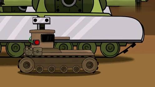 坦克世界动画:强大的kv44和at图片
