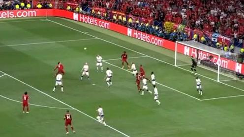 热刺后场解围球失误,奥里吉低平球射入死角