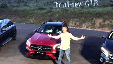 《夏东评车》奔驰新7座SUV,比GLC便宜 - 大轮毂汽车视频