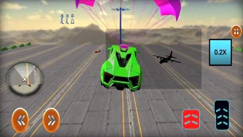 走走云游戏,极速赛车英雄,像闪电侠一样极速奔跑,最后飙车特技