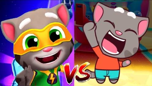 汤姆猫跑酷游戏 英雄汤姆猫vs糖果超人汤姆猫