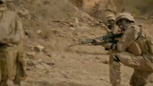 美军的精英部队抵挡入侵的外星武装