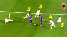 人类已经无法阻挡他进球的脚步了,球王梅西9个看似不可能的进球图标