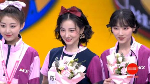 《超新星运动会》女子射箭颁奖典礼开始陈小纭获得金牌