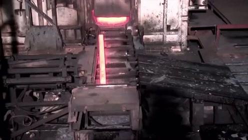 建房用的钢筋制造过程全程曝光,此视频拍摄难度不输大片
