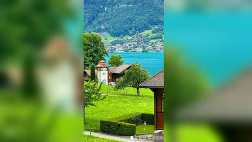 瑞士:在鸟语花香的清晨醒来