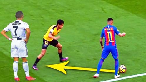 内马尔和C罗的精彩控球盘带,足坛顶级巨星的足球艺术让人惊讶