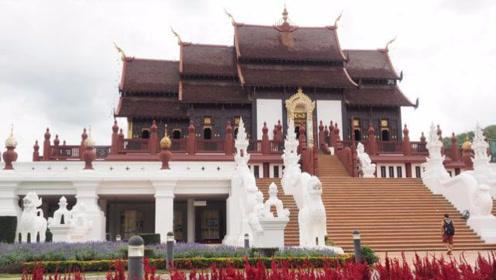 泰国清迈旅游:园艺博览园与大象营