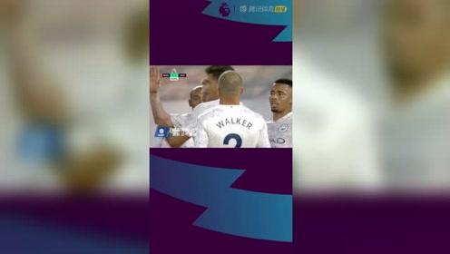 英超-曼城3-1客胜狼队 德布劳内点射热苏斯破门