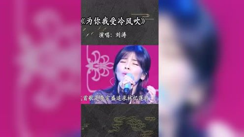 刘涛演唱的这两首歌,简直太好听了,唱哭多少女人!