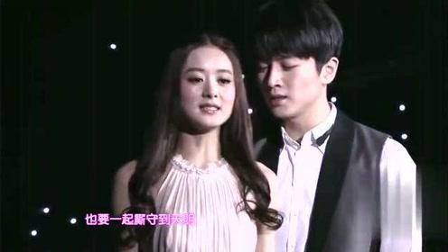 6年前,陈晓赵丽颖甜蜜对唱《心情》,不知现在会是什么心情