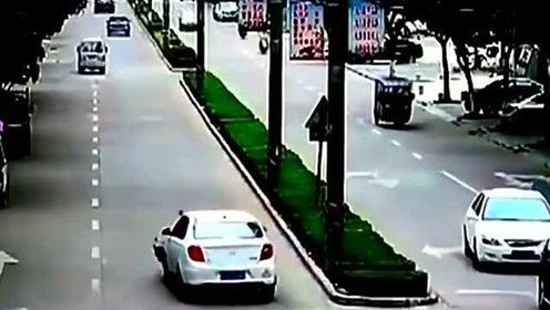 车祸集锦 :用特效都做不出来, 视频车就是活生生的例子!