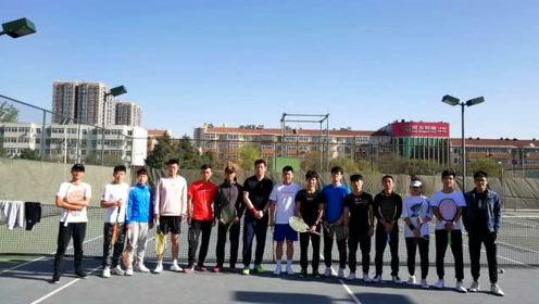 华北科技学院网球队宣传视频