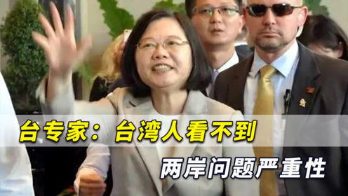 台专家:台湾是高度扭曲社会,台湾人根本看不到两岸问题严重性