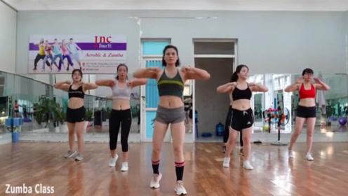 动感燃脂健身操,减肥瘦身操视频,运动量大,简单好学