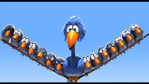 搞笑动画:愤怒的小鸟大战老凤仙,结局却逗翻