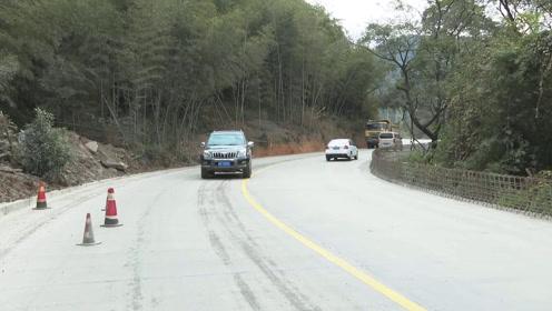 新罗:国道G358新罗中甲至东山路段已完成改造全线通车