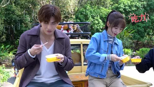 """Behind the scenes: Couple""""ChuYu"""" offline eat show 