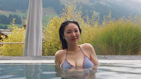 韩瑜伽美女自拍走红 网友热捧封其为微胖界女神