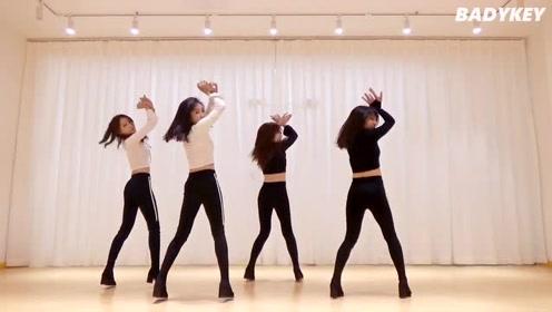 性感美女热舞EXID《DDD》妹子们身材颜值太完美