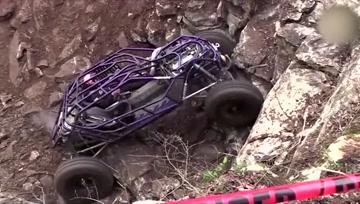 全地形钢管车挑战极限,征服超困难岩壁