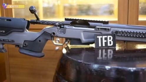 精美炫酷的狙击枪,丛林射击,画面惊艳厉害