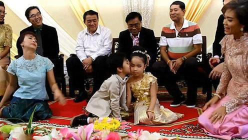 6岁龙凤胎结婚 父母花费20万泰铢举办盛大仪式
