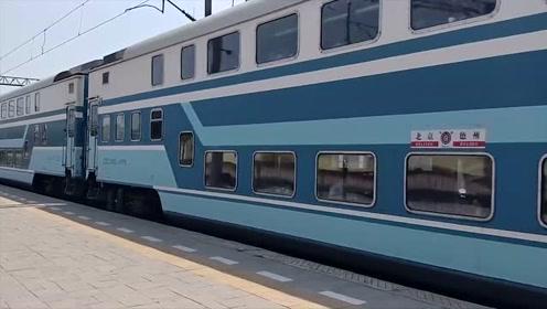 京局京段先锋号DF11-0128牵引K5231,前石秦特慢天蓝25Z车