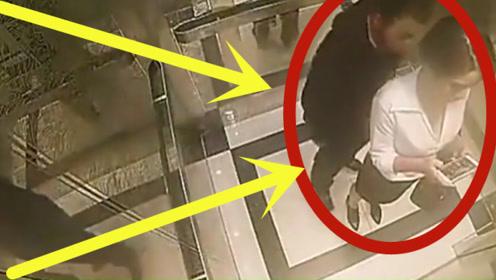 男子电梯欲猥亵美女,谁料美女跆拳道黑带!希