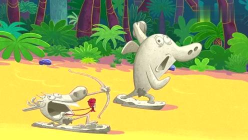 搞笑动画:海神VS恶魔,水与火的终极较量
