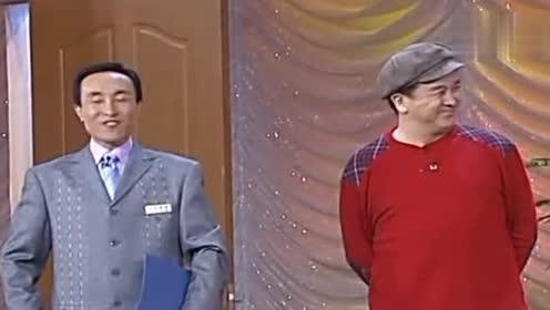 相声小品:巩汉林和林永健打招呼的样子,看着
