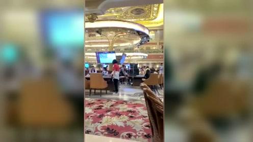 缅甸的皇家客服曝光赌场内幕视频