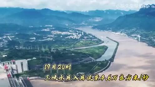 【2020抗洪防汛】:長江第2號洪水平穩通過三峽大壩