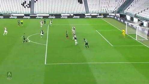 意甲尤文对阵亚特兰大比赛集锦斑马军团两获点球,C罗点球双响