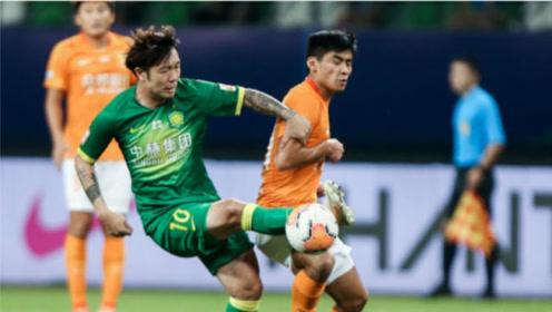 中超第9轮:北京国安2-2武汉卓尔两分钟进两球。卓尔冷静后进攻太犀利了