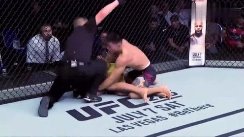盘点宋亚东UFC赛场中KO对手的精彩集锦,个个场面都燃爆球迷心