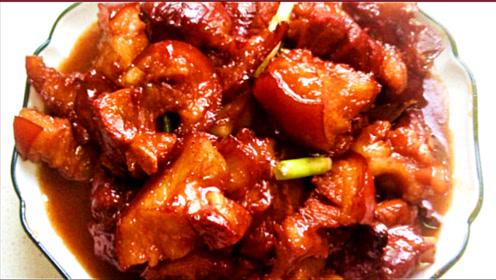 猪蹄膀这样做口感滑爽筋道、肥而不腻,色泽红亮有食欲